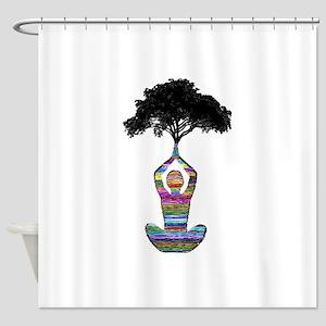 POISE FOR HARMONY Shower Curtain