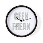 Geek Freak! Wall Clock