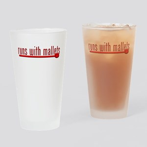 Funny Percussion Drinking Glass