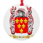 Penn Round Ornament