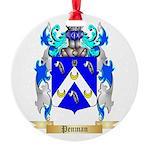 Penman Round Ornament