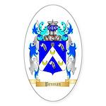 Penman Sticker (Oval)