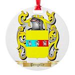 Pengelly Round Ornament