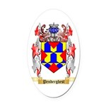 Penderghest Oval Car Magnet