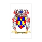 Penderghest Sticker (Rectangle 50 pk)