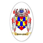 Penderghest Sticker (Oval 50 pk)