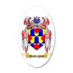 Penderghest 35x21 Oval Wall Decal