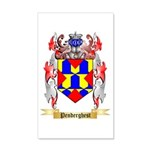 Penderghest 20x12 Wall Decal
