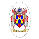 Pendergest Sticker (Oval 50 pk)