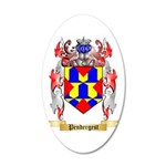 Pendergest 20x12 Oval Wall Decal