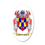 Pendergest 35x21 Oval Wall Decal