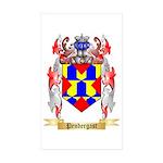 Pendergast Sticker (Rectangle 50 pk)