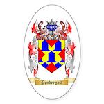 Pendergast Sticker (Oval 50 pk)