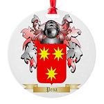 Pena Round Ornament