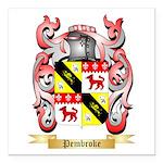 Pembroke Square Car Magnet 3