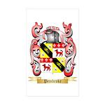 Pembroke Sticker (Rectangle 50 pk)