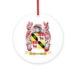 Pembroke Round Ornament