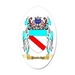 Pembridge Oval Car Magnet