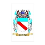 Pembridge Sticker (Rectangle 50 pk)