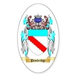Pembridge Sticker (Oval 50 pk)
