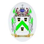 Pemberton Oval Ornament