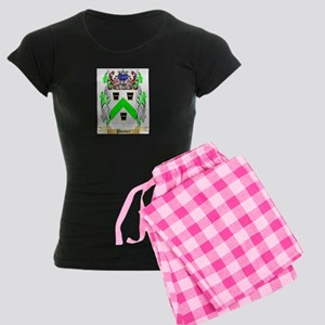 Pember Women's Dark Pajamas