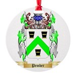 Pember Round Ornament