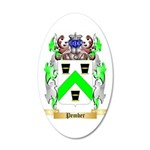 Pember 35x21 Oval Wall Decal