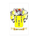 Pellegrin Sticker (Rectangle 10 pk)