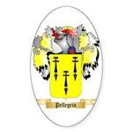 Pellegrin Sticker (Oval 50 pk)