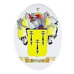Pellegrin Oval Ornament