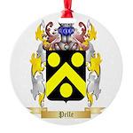 Pelle Round Ornament