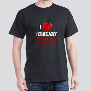 February 10th Dark T-Shirt
