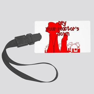 Funny Nuclear Luggage Tag