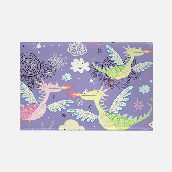 Cute Dragons Magnets