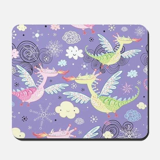 Cute Dragons Mousepad