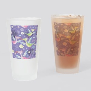 Cute Dragons Drinking Glass