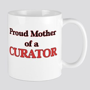 Proud Mother of a Curator Mugs