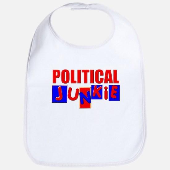 Political Junkie Bib