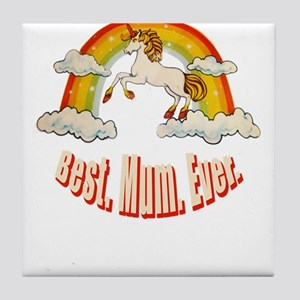 Mother's Day - Best. Mum. Ever Tile Coaster