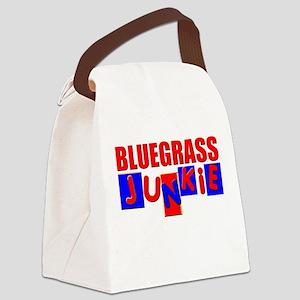 Bluegrass Junkie Canvas Lunch Bag