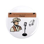"""Ccj Podcast 3.5"""" Button (100 Pack)"""