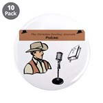 """Ccj Podcast 3.5"""" Button (10 Pack)"""