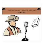 CCJ Podcast Square Car Magnet 3
