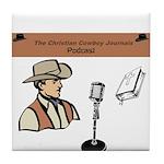 Ccj Podcast Tile Coaster