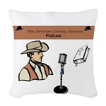 Ccj Podcast Woven Throw Pillow