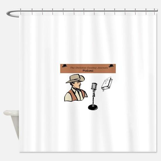 CCJ Podcast Shower Curtain
