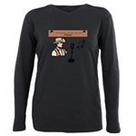 CCJ Podcast Plus Size Long Sleeve Tee