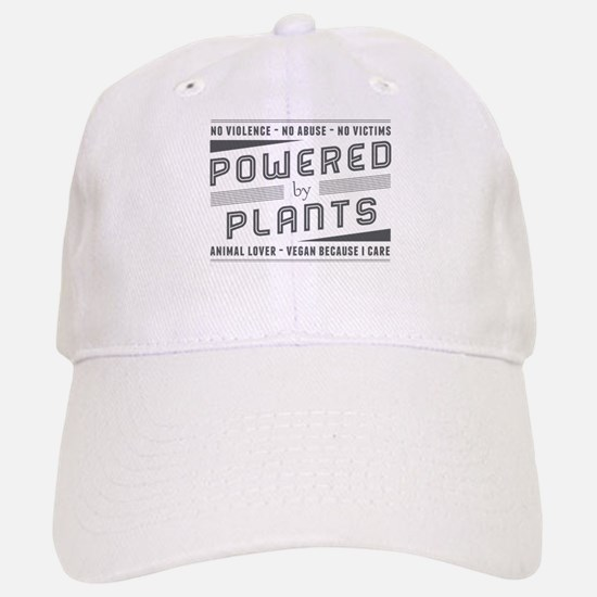 No Violence Powered by Plants Baseball Baseball Baseball Cap