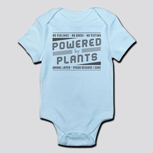 No Violence Powered by Plants Body Suit